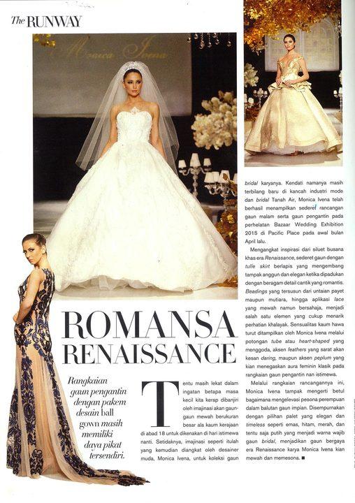 The Runway : ROMANSA RENAISSANCE